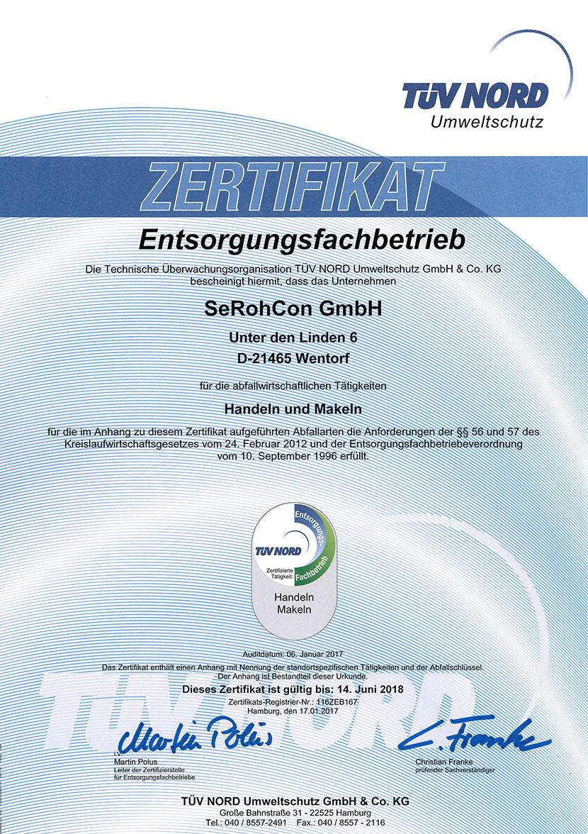 Efb Zertifikat 2017